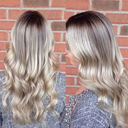 Shadow Blonde root extension