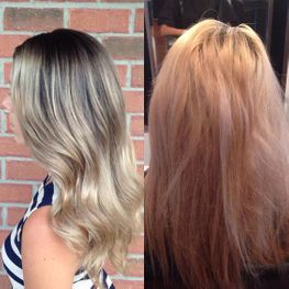 Blonde Shadow Root Colour